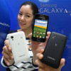Samsung Galaxy S2, Galaxy Note, Galaxy Ace, Galaxy S Plus & Galaxy Y in weißer Schale
