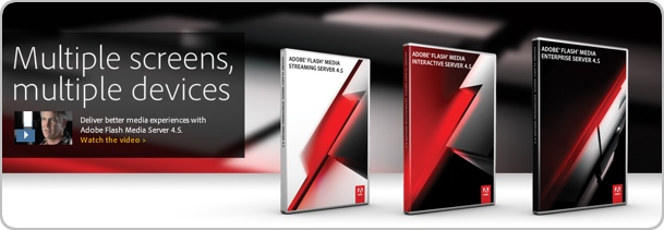 Adobe Flash Media Server 4.5