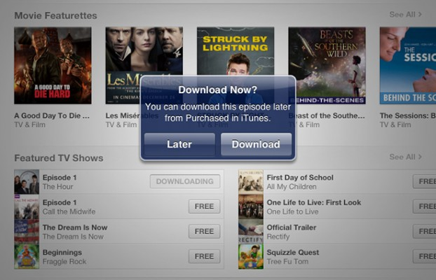 iTunes Store ermglicht sptere Downloads in iTunes 11 und iOS 6