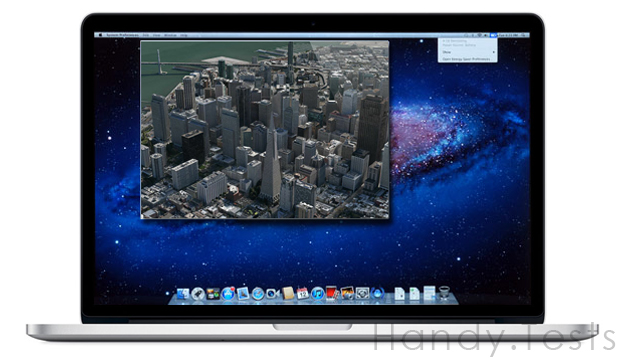 MacBook Pro 3D Maps