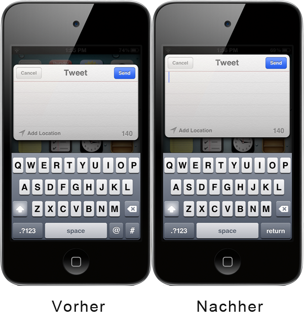 NoTweetKeyboard