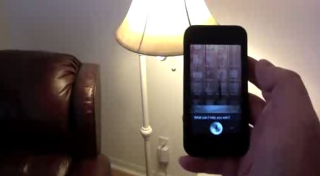 video mit siri auf dem iphone 5 den kompletten haushalt steuern handy tests. Black Bedroom Furniture Sets. Home Design Ideas