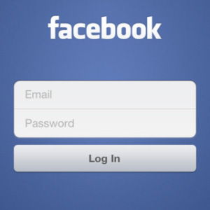 facebook login handy